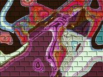 nowoczesna sztuka abstrakcyjna Obrazy Royalty Free