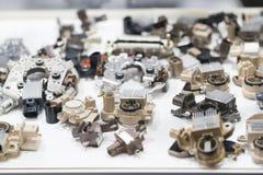 Nowoczesna technologia i inżynierio automobilowy gernerator electro zdjęcia royalty free