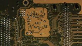 Nowoczesna technologia tło, komputerowego obwodu deska. Niecka makro- strzał. zbiory