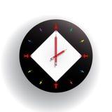 nowoczesna zegara do ściany Obrazy Stock