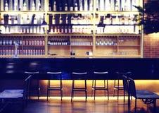 nowoczesne bar Obrazy Royalty Free
