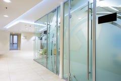 nowoczesne biuro korytarza Obraz Royalty Free