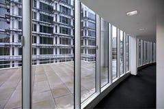 nowoczesne biuro korytarza zdjęcie royalty free