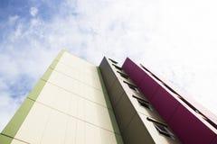 nowoczesne budynku biura Dno W górę widoku Obrazy Stock