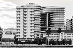 nowoczesne budynku do szpitala Obrazy Stock