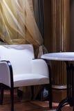 nowoczesne cafe wewnętrznego zdjęcie stock