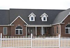 nowoczesne cegły w domu zdjęcie stock