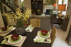 nowoczesne dekoracji zastawy stołowe Obraz Royalty Free