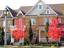 nowoczesne domy komunalne Zdjęcia Royalty Free