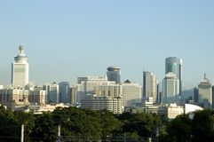 nowoczesne miasto chiński Shenzhen Zdjęcie Stock