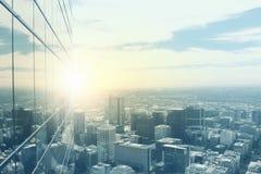 nowoczesne miasto widok Zdjęcie Stock