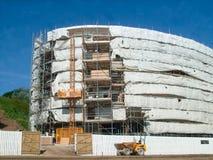 nowoczesne miejsca budowy Zdjęcie Royalty Free