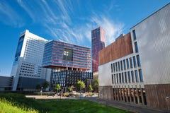 nowoczesne miejskiego architektury Zdjęcie Royalty Free