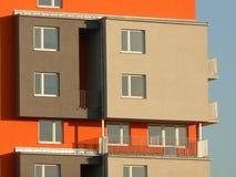nowoczesne mieszkalnictwa Zdjęcia Royalty Free