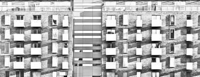 nowoczesne mieszkania Zdjęcia Stock