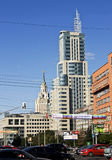 nowoczesne Moscow budynków Fotografia Stock