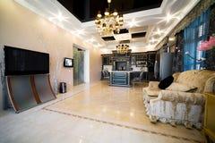 nowoczesne nowego mieszkania Obrazy Royalty Free