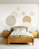 nowoczesne sypialnia projektu obraz royalty free