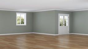 nowoczesne wewnętrznego w domu pusty pokój ilustracja wektor