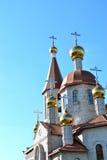 nowoczesnego kościoła ortodoksyjny Fotografia Royalty Free