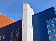 2 nowoczesnej budowy Obrazy Stock
