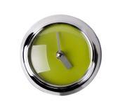 nowoczesny zegar white Zdjęcie Stock