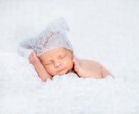 Nowonarodzona chłopiec Zdjęcia Royalty Free