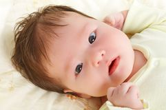 nowonarodzone dziecko zdjęcia stock