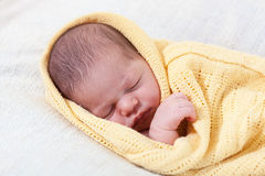 Nowonarodzony dziecko obraz stock