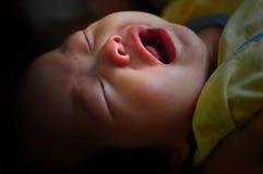 nowonarodzony dziecko płacz Obraz Royalty Free