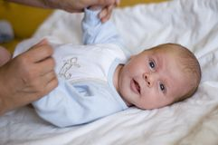 noworodek portret Zdjęcie Royalty Free
