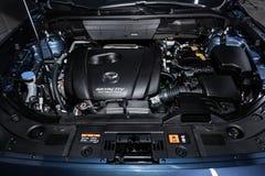 Nowosibirsk, Russland - 25. Januar 2019: Mazda CX-5 lizenzfreie stockfotografie