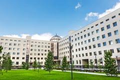 Nowosibirsk-staatliche Universität, Neubau Novosibirsk, Russland Lizenzfreie Stockfotografie