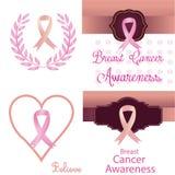 nowotwór piersi lekarstwa walki znaleziska funduszu pocztowy znaczek Obraz Stock