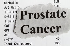 nowotwór prostata zdjęcie royalty free
