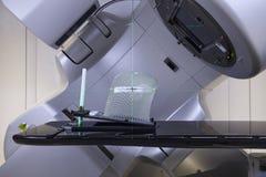 Nowotwór terapia, postępowy medyczny liniowy akcelerator w leczniczej onkologii fotografia stock