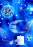nowotworu astrologiczny znak ilustracja wektor