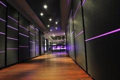 Nowożytny baru klub indoors Zdjęcia Stock