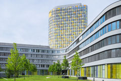 Nowożytny budynek biurowy Niemiecki samochodu klub ADAC Fotografia Stock