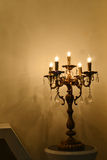 Nowożytny krystaliczny świecznik Zdjęcie Stock