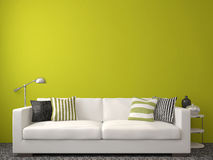 Nowożytny living-room Zdjęcia Royalty Free