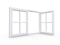 Nowożytny okno Obrazy Stock
