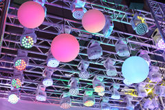 Nowożytny oświetleniowy wyposażenie Zdjęcia Royalty Free