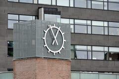 Nowożytny zegar Fotografia Royalty Free