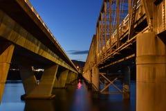 Nowra most Zdjęcie Stock