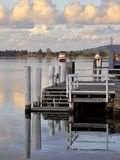 Nowra Pier Royalty Free Stock Photography