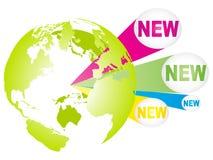 nowy świat royalty ilustracja