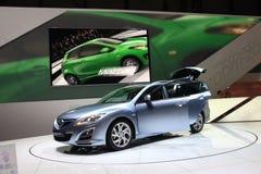 nowy 6 furgon Mazda Fotografia Royalty Free