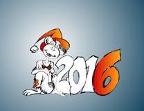 Nowy 2016 Zdjęcie Royalty Free