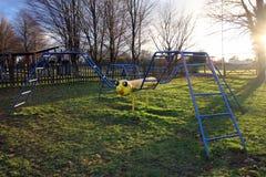 Nowy Alresford, UK - Jan 28 2017: Wspinaczkowa rama kształtująca jak sp Obraz Royalty Free